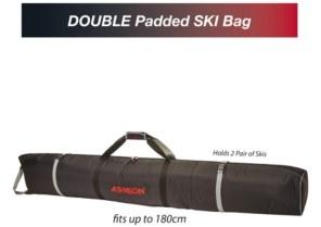 Athalon Double Ski Padded Bag