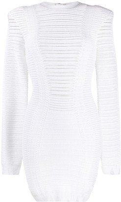 Balmain Knitted Short Dress