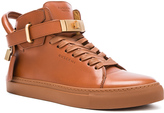 Buscemi 100MM Box Leather Sneakers