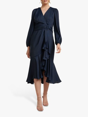 Forever New Lilian Midi Dress, Navy