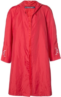 A-Cold-Wall* Hooded Raincoat