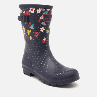 Joules Women's Molly Mid Height Printed Wellies