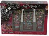 Christian Audigier Hardy Hearts & Daggers For Women By 3 Pc. Gift Set