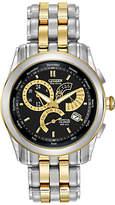 Citizen Bl8004-53e Calibre 8700 Eco Drive Perpetual Calendar Bracelet Strap Watch, Silver/gold