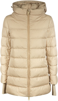Herno Large Collar Hooded Padded Jacket