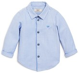 Armani Junior Armani Boys' Pattern Block Dress Shirt - Sizes 12-36 Months