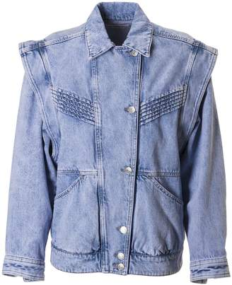 Isabel Marant Denim Buttoned Jacket