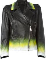 Sylvie Schimmel Deejay Digit biker jacket - women - Lamb Skin - 38