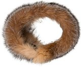 Adrienne Landau Fox Fur Collar