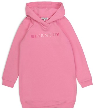 Givenchy Kids Logo Hooded Dress (4-14 Years)