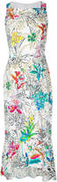 Peter Pilotto sleeveless floral print dress