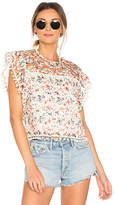 Tularosa Kennedy Top in Ivory. - size L (also in S,XS)