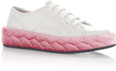 Marco De Vincenzo White & Pink Sneakers