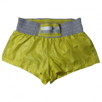 adidas Stella Mc Cartney Pour Yellow Shorts for Women