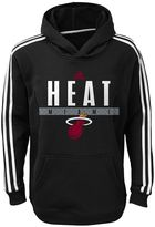 adidas Boys 8-20 Miami Heat Playbook Hoodie