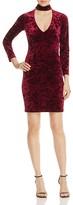 Bardot Cutout Velvet Sheath Dress - 100% Exclusive