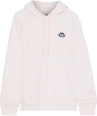 Fiorucci Icon Angels Appliqued French Cotton-terry Hoodie