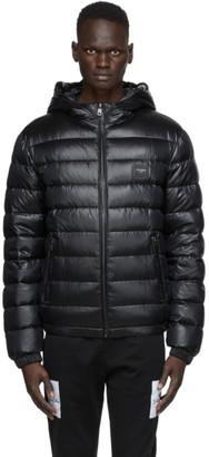 Dolce & Gabbana Black Down Quilted DNA Jacket