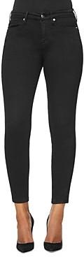 Good American Good Legs Core Skinny Jeans in Black001
