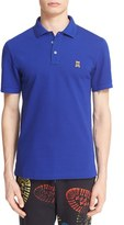 Moschino Men's Cotton Pique Polo