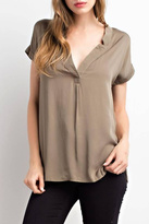 Mittoshop Mittoshop V Neck Blouse
