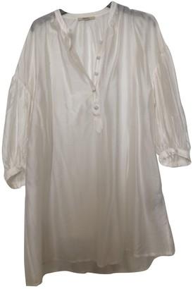 Sessun White Silk Top for Women