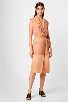 French Connection Brekhna Safari Sleevless Dress