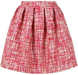 Philipp Plein Mini Tweed Skirt