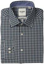 Ben Sherman Men's Mini Multi Plaid Slim Fit Dress Shirt