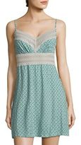 Saks Fifth Avenue Lori Diamond-Printed Chemise