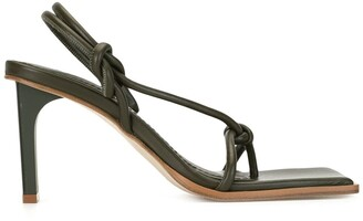 Dion Lee Knot high-heel sandals