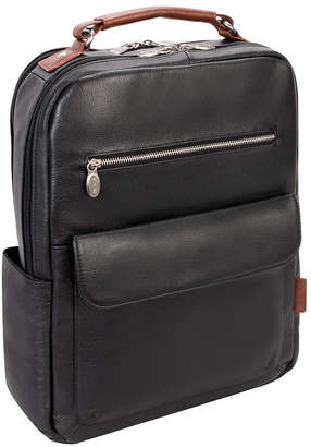 "McKlein Logan 17"" Dual-Compartment Laptop Tablet Backpack"
