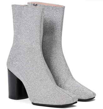 Acne Studios Glitter ankle boots