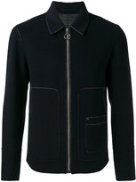 Joseph zipped shirt jacket - men - Viscose/Cashmere/Wool - 46