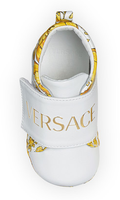 Versace Pre-Walker Barocco-Print Sneakers, Baby