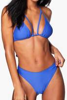 boohoo Madrid Mix And Match High Leg Bikini Brief