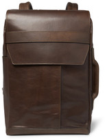 Maison Margiela Leather Backpack - Brown