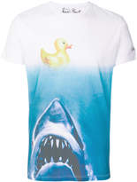 MC2 Saint Barth Jaws and rubber duck ombre T-shirt