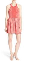 Parker &Candice& Jacquard Knit Dress