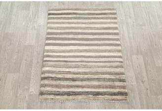 Shelley Isabelline One-of-a-Kind Shiraz Persian Hand-Knotted 3' 4'' x 4' 6'' Wool Brown/Spanish White Area Rug Isabelline
