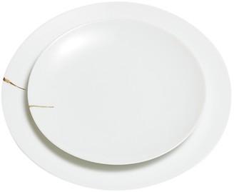 Dragonfly Kintsugi Charentais Large Dinner Plate
