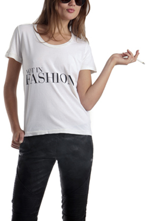 Sophomore Not In Fashion White T-Shirt