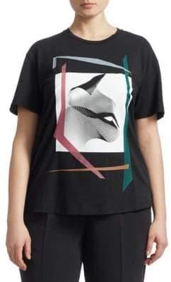 Marina Rinaldi Marina Rinaldi, Plus Size Graphic Jersey Tee