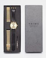 Triwa Sort Of Black Watch Gift Set - Black