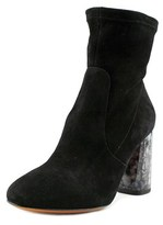 Carven 9001sc149 Round Toe Suede Ankle Boot.