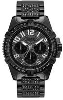 GUESS Crystal-Trimmed Stainless Steel Chronograph Watch