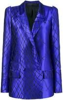 Haider Ackermann 3D shoulder smiths blazer