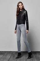 J Brand Maria High-Rise Skinny in Dusk Haze