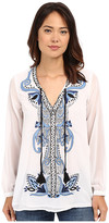 Tolani Marisol Embroidered Top