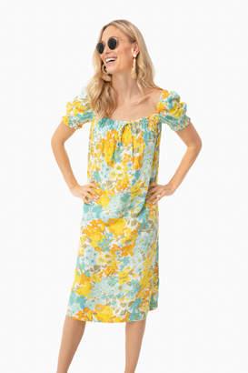 Faithfull Annina Floral Canales Midi Dress